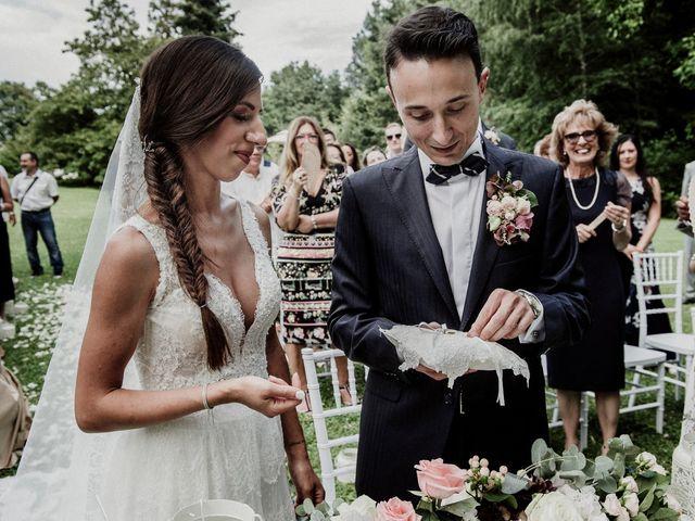 Il matrimonio di Andrea e Giorgia a Monvalle, Varese 73