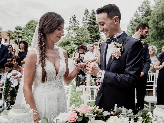 Il matrimonio di Andrea e Giorgia a Monvalle, Varese 74