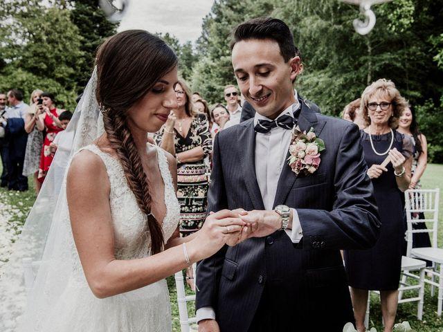 Il matrimonio di Andrea e Giorgia a Monvalle, Varese 75