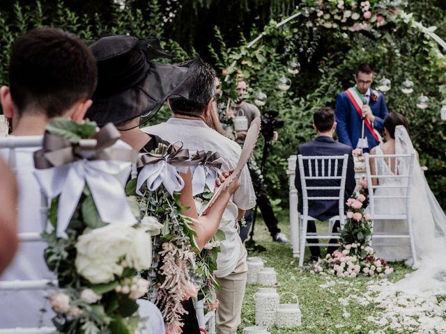 Il matrimonio di Andrea e Giorgia a Monvalle, Varese 79