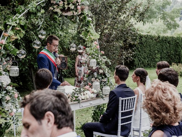 Il matrimonio di Andrea e Giorgia a Monvalle, Varese 80