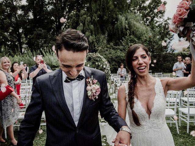 Il matrimonio di Andrea e Giorgia a Monvalle, Varese 85