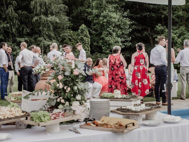 Il matrimonio di Andrea e Giorgia a Monvalle, Varese 96