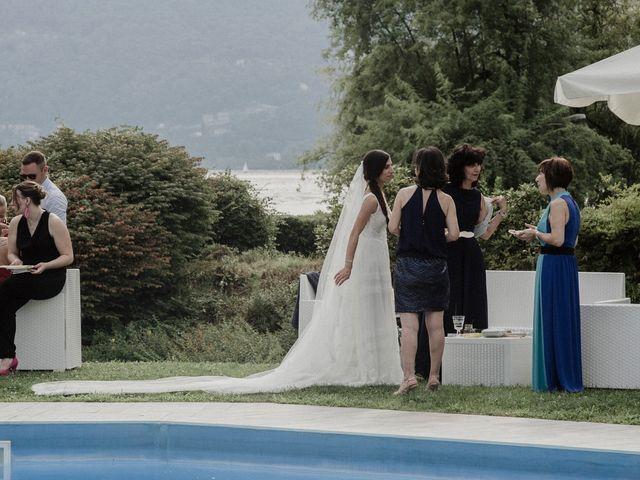 Il matrimonio di Andrea e Giorgia a Monvalle, Varese 97