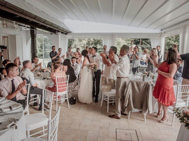 Il matrimonio di Andrea e Giorgia a Monvalle, Varese 126