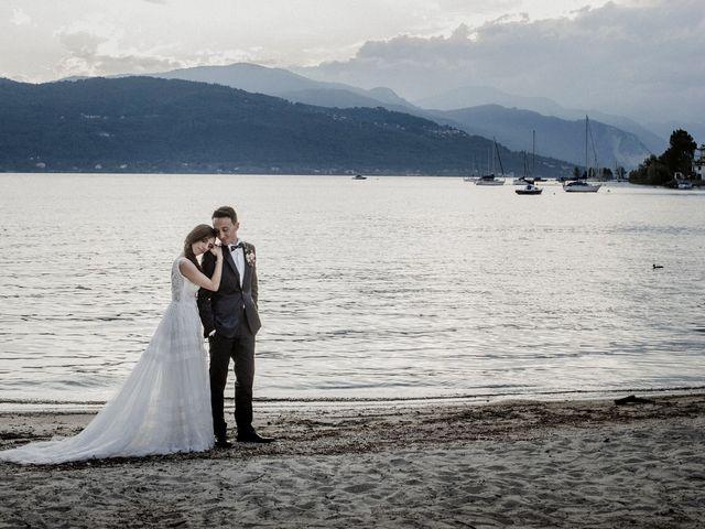 Il matrimonio di Andrea e Giorgia a Monvalle, Varese 137