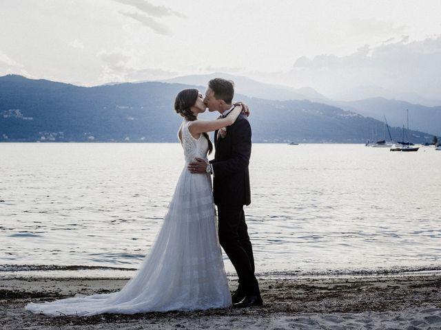Il matrimonio di Andrea e Giorgia a Monvalle, Varese 139