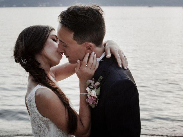Il matrimonio di Andrea e Giorgia a Monvalle, Varese 147