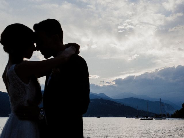 Il matrimonio di Andrea e Giorgia a Monvalle, Varese 148