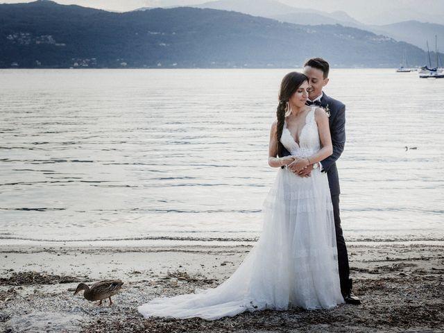 Il matrimonio di Andrea e Giorgia a Monvalle, Varese 155