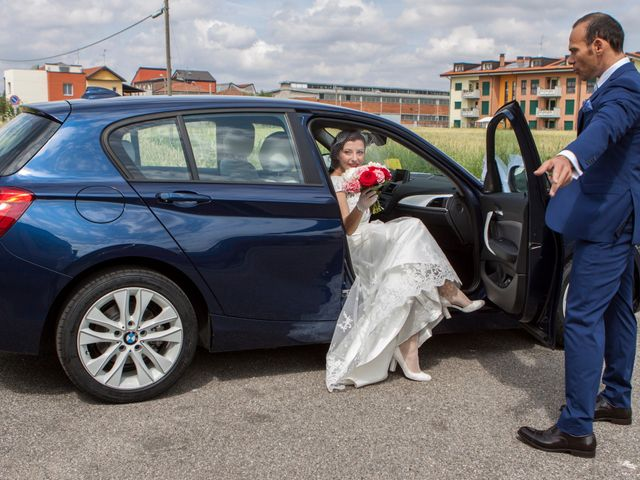 Il matrimonio di Davide e Lara a Monza, Monza e Brianza 7