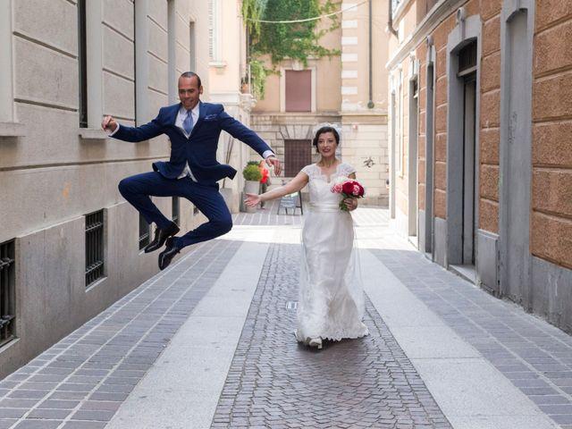 Il matrimonio di Davide e Lara a Monza, Monza e Brianza 28