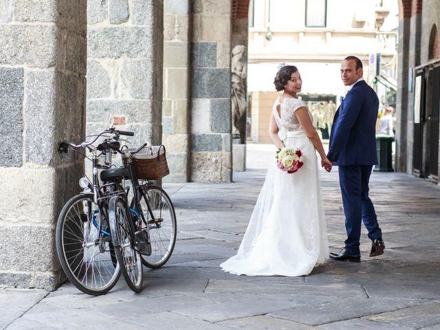 Il matrimonio di Davide e Lara a Monza, Monza e Brianza 30