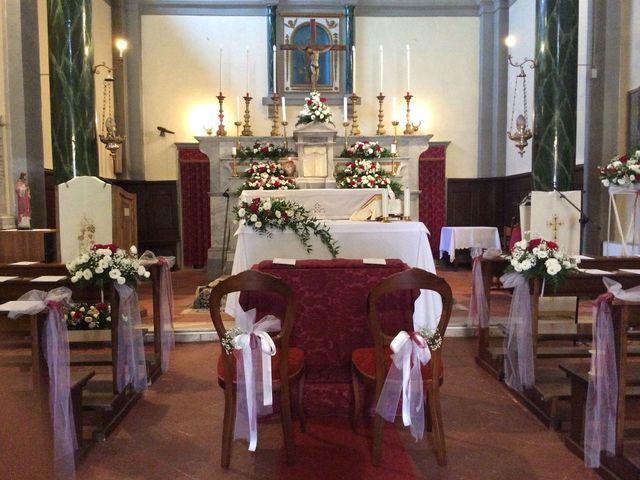Il matrimonio di Mirko e Pamela a Castiglion Fibocchi, Arezzo 1