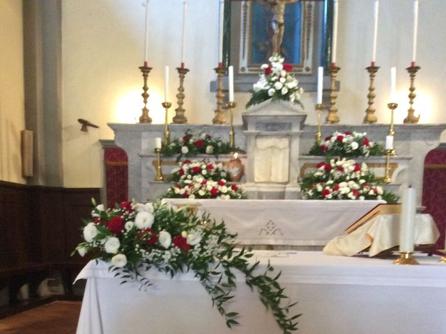 Il matrimonio di Mirko e Pamela a Castiglion Fibocchi, Arezzo 19
