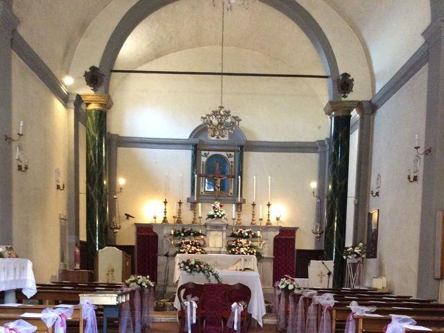 Il matrimonio di Mirko e Pamela a Castiglion Fibocchi, Arezzo 20