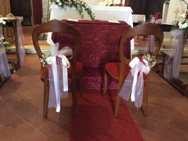 Il matrimonio di Mirko e Pamela a Castiglion Fibocchi, Arezzo 21