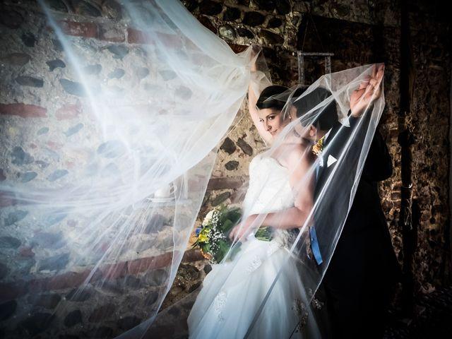 le nozze di Federica e Abel