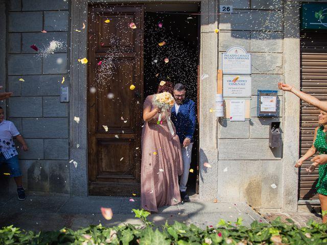 Il matrimonio di Luca e Virginia a Lu, Alessandria 24