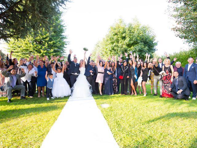Il matrimonio di Angelo e Francesca a Ceriano Laghetto, Monza e Brianza 31