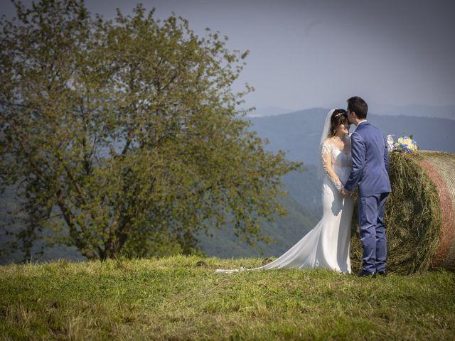 Il matrimonio di Ricccardo e Cristina a Almenno San Bartolomeo, Bergamo 25