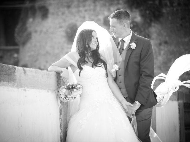 Il matrimonio di GiamPaolo e Francesca a Bracciano, Roma 2