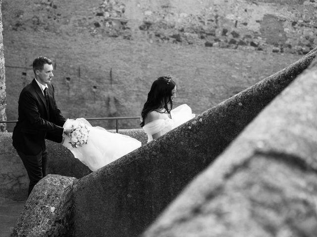 Il matrimonio di GiamPaolo e Francesca a Bracciano, Roma 12