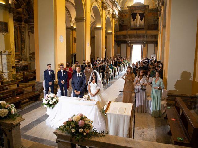 Il matrimonio di GiamPaolo e Francesca a Bracciano, Roma 53