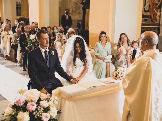 Il matrimonio di GiamPaolo e Francesca a Bracciano, Roma 55