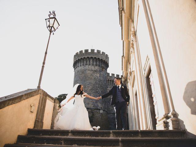 Il matrimonio di GiamPaolo e Francesca a Bracciano, Roma 65