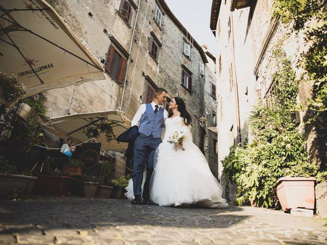 Il matrimonio di GiamPaolo e Francesca a Bracciano, Roma 77