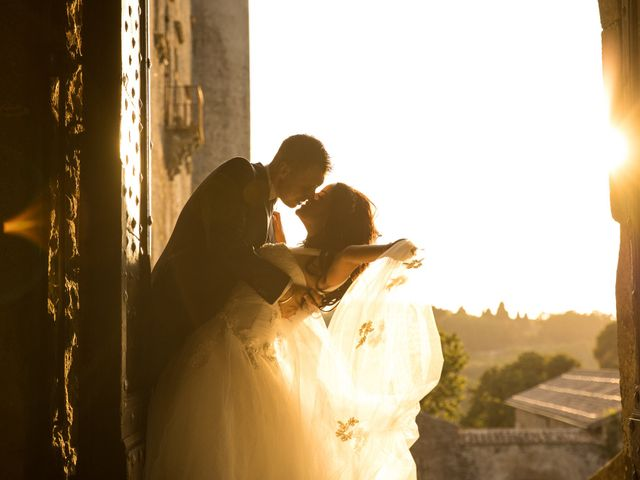 Il matrimonio di GiamPaolo e Francesca a Bracciano, Roma 86