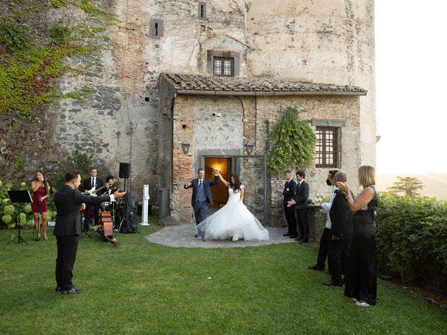 Il matrimonio di GiamPaolo e Francesca a Bracciano, Roma 89