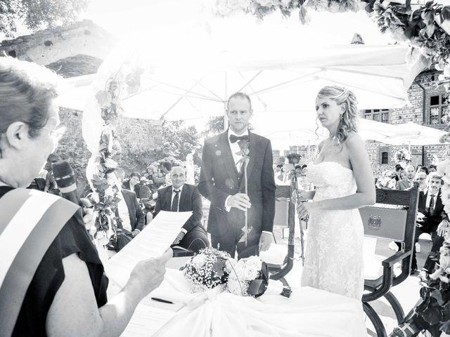 Il matrimonio di Fabrizio e Silvia a Pavone Canavese, Torino 12