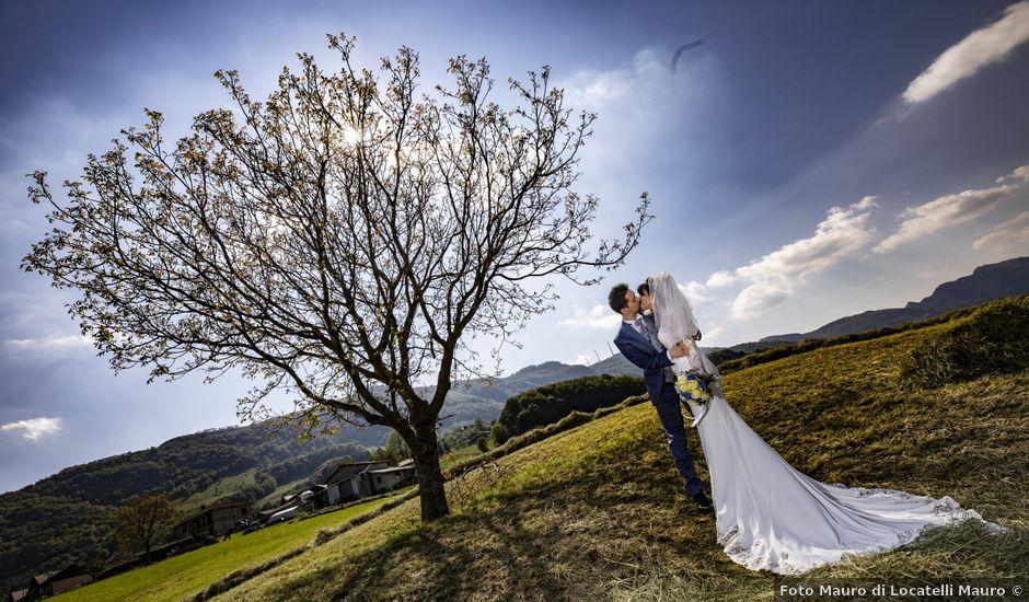 Il matrimonio di Ricccardo e Cristina a Almenno San Bartolomeo, Bergamo
