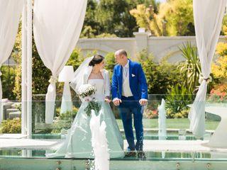 Le nozze di Terry e Sergio