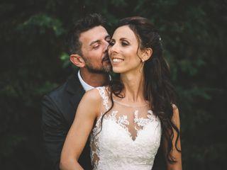 Le nozze di Sarah e Denis