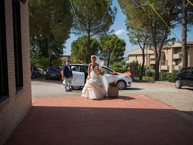 Il matrimonio di Simone e Elisa a Castellina in Chianti, Siena 37