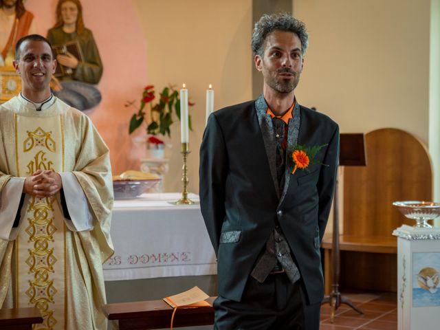 Il matrimonio di Simone e Elisa a Castellina in Chianti, Siena 38