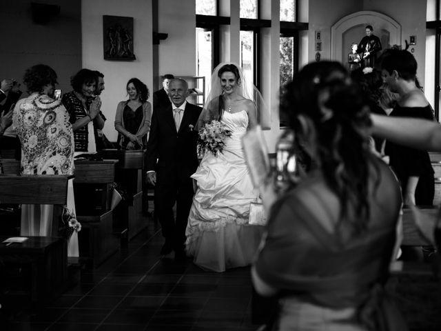 Il matrimonio di Simone e Elisa a Castellina in Chianti, Siena 39