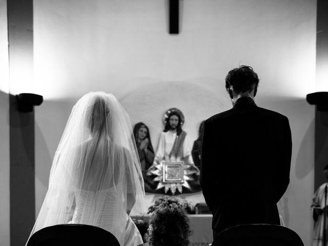 Il matrimonio di Simone e Elisa a Castellina in Chianti, Siena 44