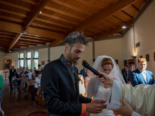 Il matrimonio di Simone e Elisa a Castellina in Chianti, Siena 52