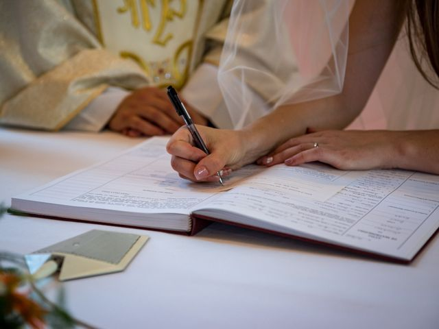 Il matrimonio di Simone e Elisa a Castellina in Chianti, Siena 59