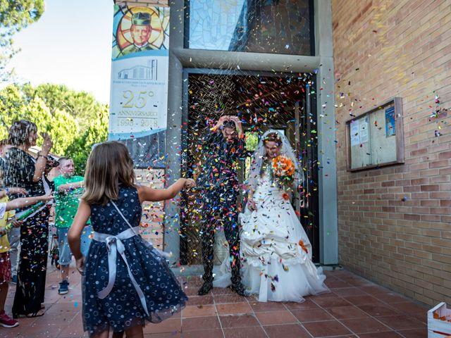 Il matrimonio di Simone e Elisa a Castellina in Chianti, Siena 63