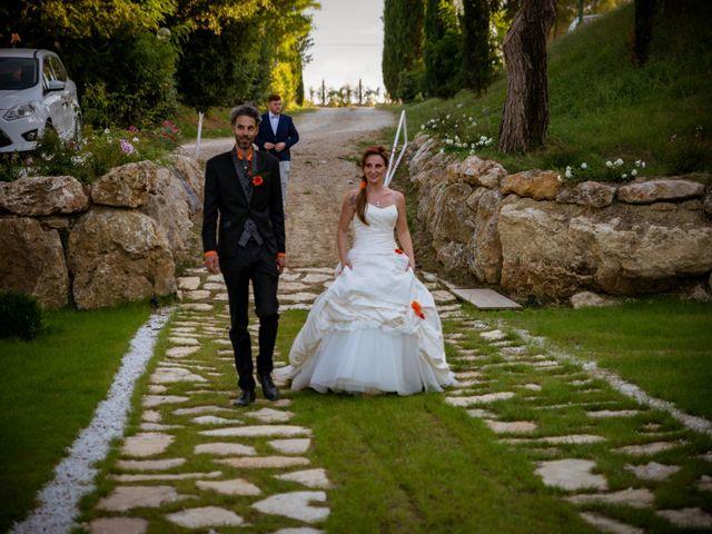 Il matrimonio di Simone e Elisa a Castellina in Chianti, Siena 71
