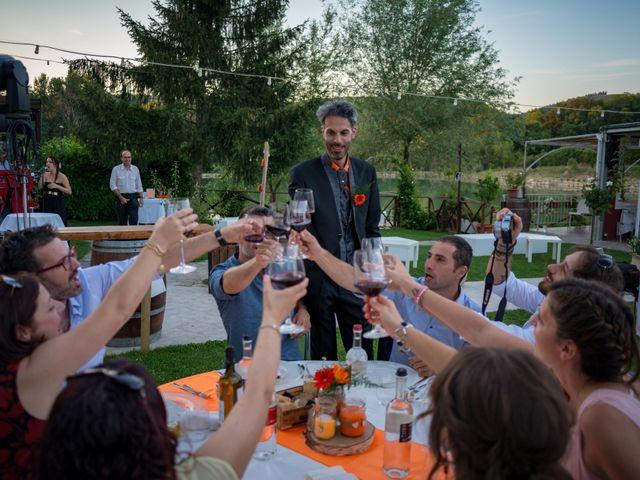 Il matrimonio di Simone e Elisa a Castellina in Chianti, Siena 84