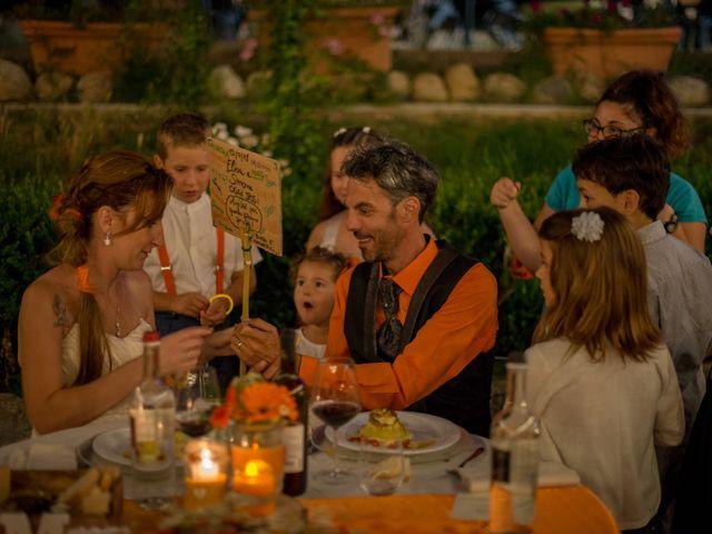Il matrimonio di Simone e Elisa a Castellina in Chianti, Siena 93