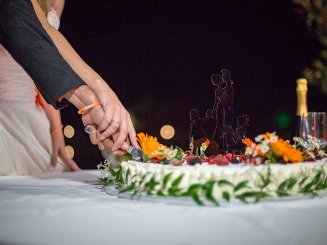 Il matrimonio di Simone e Elisa a Castellina in Chianti, Siena 99