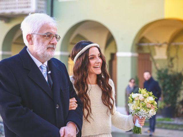 Il matrimonio di Dario e Anna a San Martino in Rio, Reggio Emilia 11
