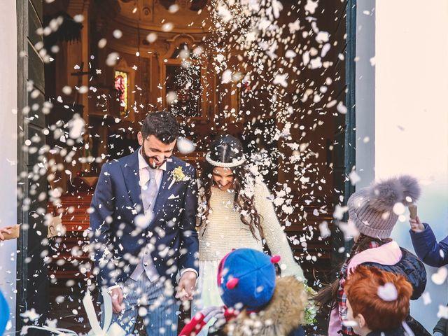 Il matrimonio di Dario e Anna a San Martino in Rio, Reggio Emilia 1